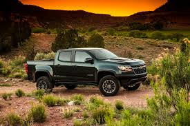 chevy colorado silver 2018 chevrolet colorado zr2 gas and diesel first test review