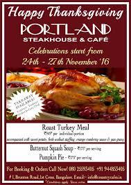portland steakhouse café home bangalore india menu