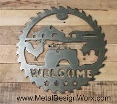 mountain metal signs