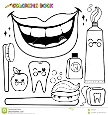 free coloring pages download the strong teeth coloring page for