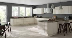white gloss kitchen doors integrated handle diy luxury kitchens handleless replacement doors