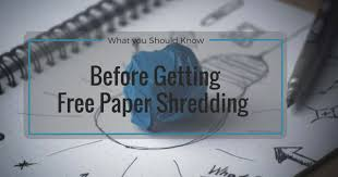 where to shred papers for free free shredding services in toronto