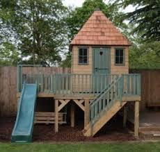 outdoor wooden playhouses foter