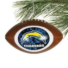 los angeles chargers decorations gift bags ornaments