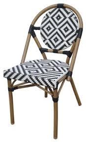 Wicker Bistro Chairs Rnd Plnt Stk Chair Spa Blue2 Small Backyard Living Pinterest