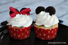 minnie mouse cupcakes minnie mickey mouse oreo cupcakes spotted