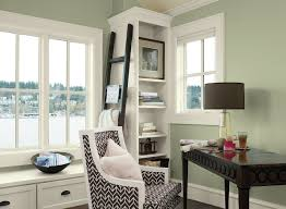 green home office ideas soothing home office space paint color