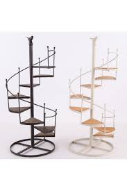 Wooden Spiral Stairs Design Spiral Staircase Design Wood And Metal Big Plant Display Stand