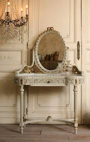 Antique Looking Vanities Vintage French Decor Vintage Louis Xvi French Style Vanity Gilt