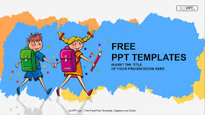 50 Free Cartoon Powerpoint Templates With Characters Illustrations Free Power Point