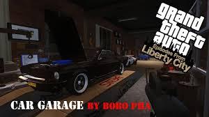 car garage mod for gta iv eflc youtube