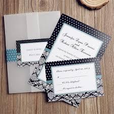 Red And Black Wedding Invitations Black And Teal Vintage Pocket Wedding Invitations Ewpi076 As Low