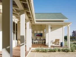 l shaped house with porch farmhouse in the vineyards farmhouse porch san francisco