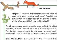 the gruffalo u0027 character finger puppets free early years