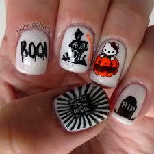 no nails a stampaholic u0027s nail art blog hello kitty halloween