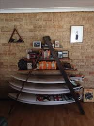 How To Make A Sling Bookcase Best 25 Surfboard Rack Ideas On Pinterest Surfboard Storage