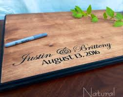 wedding signing board wedding guest board etsy