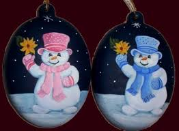 painted custom order ornaments can be personalised