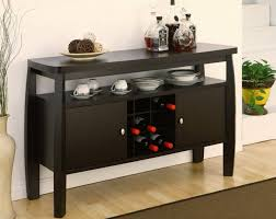 Dining Room Table With Wine Rack Dining Room Sideboard Wine Rack