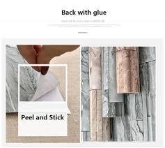 Self Stick Wallpaper by Aliexpress Com Buy 60cmx10m Rustic Home Decor Wall Sticker