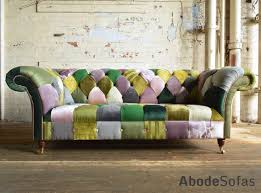 Discount Chesterfield Sofa Floral Wing Patchwork Sofa Chesterfield And Funky In Idea 8