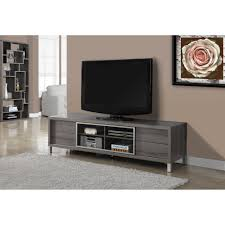 monarch tv stand white euro style for tvs up to 70
