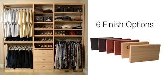 Wooden Closet Shelves by Toxic Free Solid Wood No Particle Board