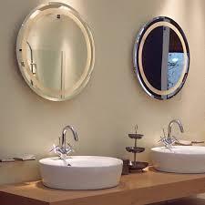 hotel bathroom t5 round led backlit mirror buy led backlit