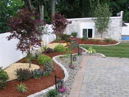 Easy Landscaping Ideas For Front Yard - no grass front yard landscaping ideas front yard mediterranean