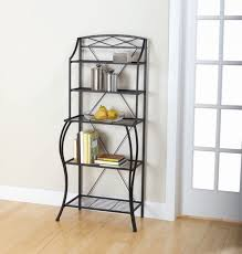 Bakers Wine Rack Bakers Rack With Cabinets Usashare Us