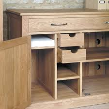 Small Oak Desks Office Desk Real Wood Computer Desk Oak Desk With Hutch Light