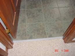 Floor Transition Ideas Delightful Ideas Tile To Carpet Transition Enjoyable Floor