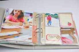 school photo album lizzy kartchner school mini album project