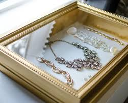 vintage necklace box images Shadow box turned jewelry display perfect for displaying jpg