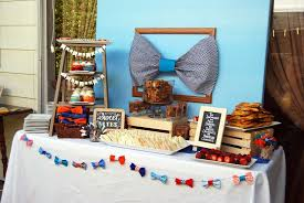 bow tie baby shower ideas bow tie baby shower party ideas dessert table babies