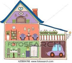 casa disegno clip casa interno disegno e decorazione k20804766 cerca