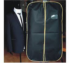 how to travel with a suit images Black suit dress coat shirt garment clothes storage bag travel jpg