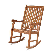 Outdoor Wooden Chairs All Things Cedar Tr22 Teak Outdoor Rocking Chair Lowe U0027s Canada