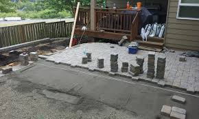 Easy Patio Pavers Chic Easy Paver Patio Ideas 1000 Ideas About Inexpensive Patio On