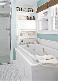 Blue Bathrooms Decor Ideas Navy Blue Bathroom Decor White Ceramic Bath Tub With High Arc