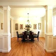 interior columns for homes decorative columns interior ideas wall wonderful 4 pillars for homes