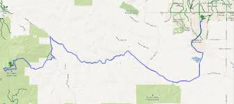 Mt Diablo State Park Map by The Zombie Cyclist Marsh Creek Road Marsh Creek Trail