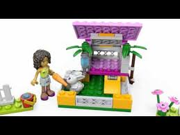Rabbit Hutch Instructions Lego Friends 3938 Andrea U0027s Bunny House Lego 3d Review Youtube