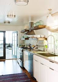 White Beadboard Ceiling by Beadboard Ceiling Contemporary Kitchen Jennifer Worts Design