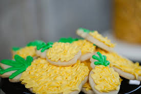 Pineapple Decoration Ideas Party Like A Pineapple 2014 Jenny Cookies