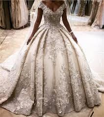 princess style wedding dresses luxury princess style wedding dresses 3d flower appliques