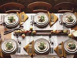 Dining Room Table Setting Dishes Inspiring Fall Dining Room Entertaining Ideas
