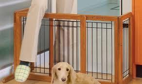 pet room ideas uncategorized white folding portable divider pet gate to make