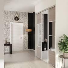 deco porte placard chambre portes coulissantes pour placard stickers pour porte placard