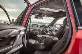 mazda cx9 interior 2018 mazda cx 9 review live prices and updates whichcar